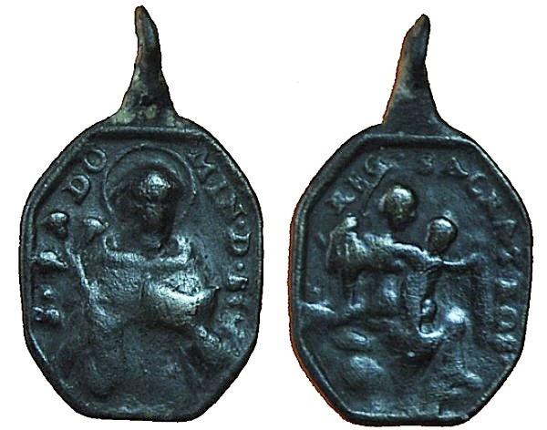 Recopilación medallas de Santo Domingo de Guzmán. Notas iconográficas. 17_20x10