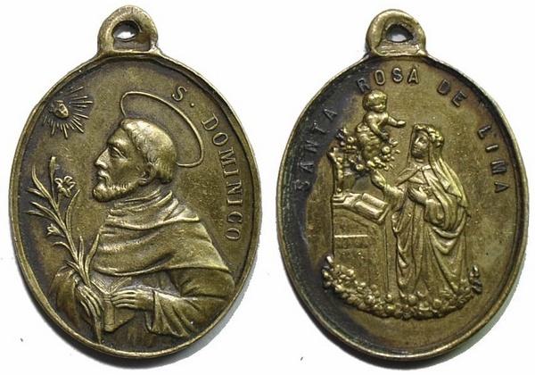 Recopilación medallas de Santo Domingo de Guzmán. Notas iconográficas. 26x21_10