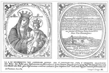 Sta. María de la Carta / Niño Jesus de Messina - s. XVIII  (MAM) 639210
