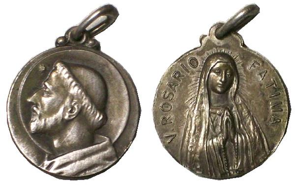 Recopilación medallas de Santo Domingo de Guzmán. Notas iconográficas. Agusti10