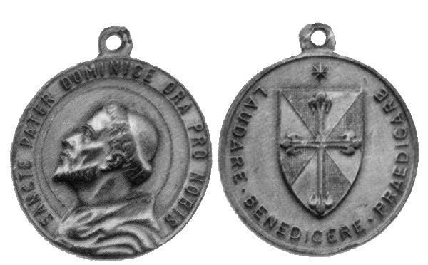 Recopilación medallas de Santo Domingo de Guzmán. Notas iconográficas. Archiv11