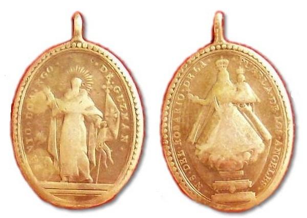 Recopilación medallas de Santo Domingo de Guzmán. Notas iconográficas. Archiv12