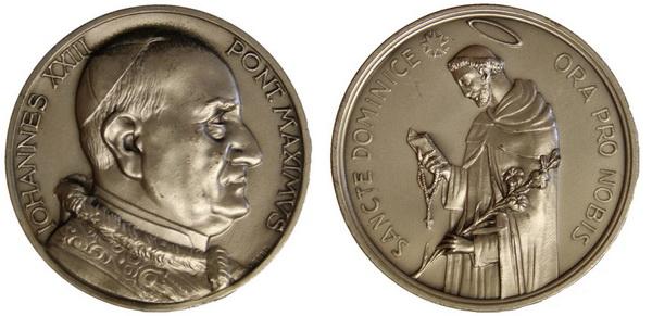 Recopilación medallas de Santo Domingo de Guzmán. Notas iconográficas. Archiv13
