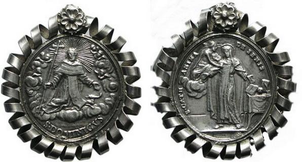 Recopilación medallas de Santo Domingo de Guzmán. Notas iconográficas. Archiv15