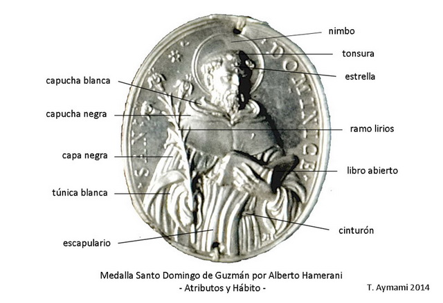 Recopilación medallas de Santo Domingo de Guzmán. Notas iconográficas. Atribu13