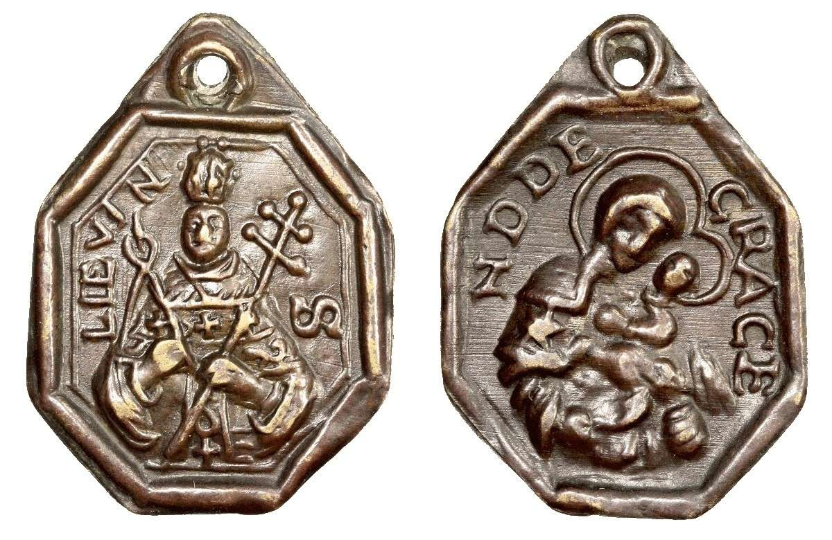 San Lievin o Livino / N. D. de Grace de Cambrai (R.M. SXVII-P102) B075_d12