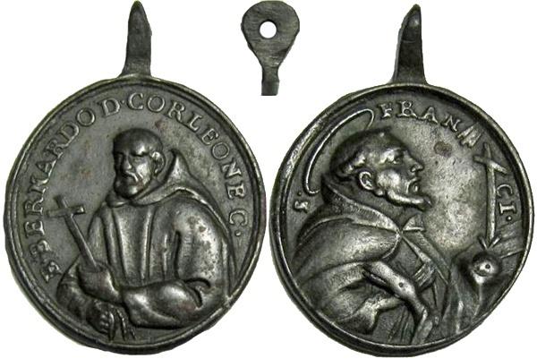 Beato Bernardo da Corleone/ San Francisco de Asis S.XVIII ( RFM SXVIII-O159) Bberna10