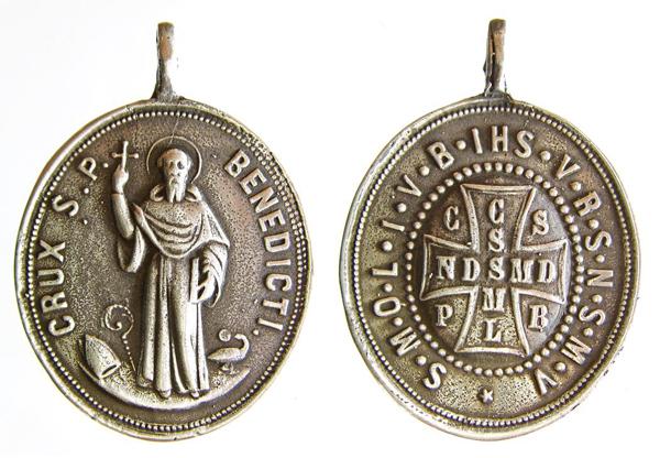 Recopilación de Medallas de San Benito Abad Benito11