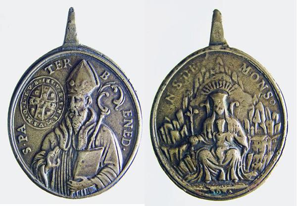 Recopilación de Medallas de San Benito Abad Benito12