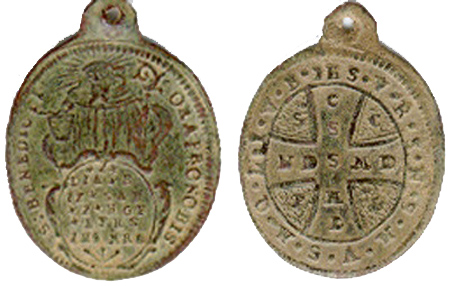 Recopilación de Medallas de San Benito Abad - Página 2 Benito17