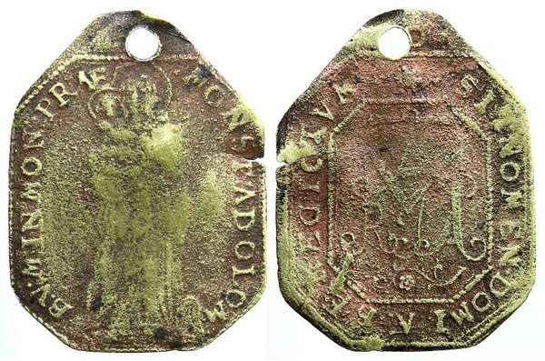 Madre de Dios Svatokopecká (Olomouc Moravia) / Monograma MARIA C103_d10