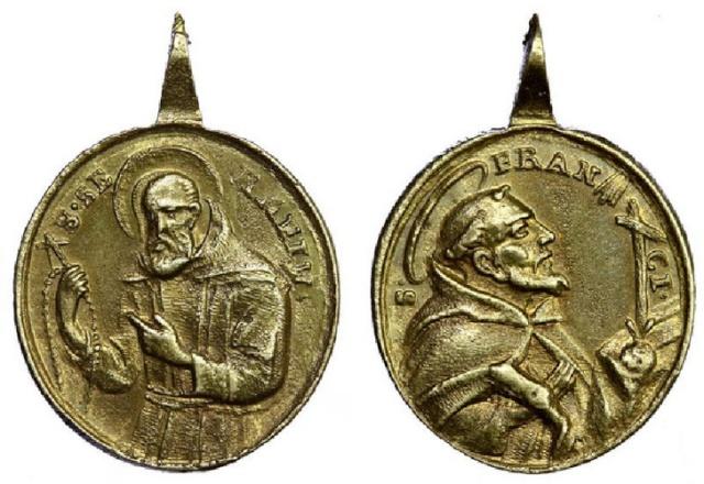 Recopilacion medallas  San Francisco de Asis C118df10