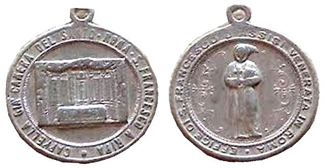Recopilacion medallas  San Francisco de Asis Centau12