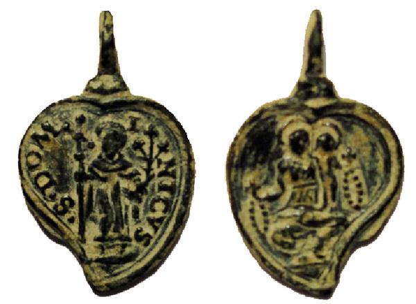 Recopilación medallas de Santo Domingo de Guzmán. Notas iconográficas. Conuba10