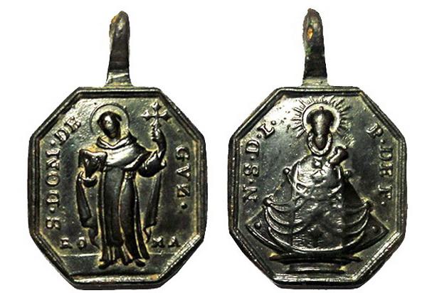 Recopilación medallas de Santo Domingo de Guzmán. Notas iconográficas. Conuba13