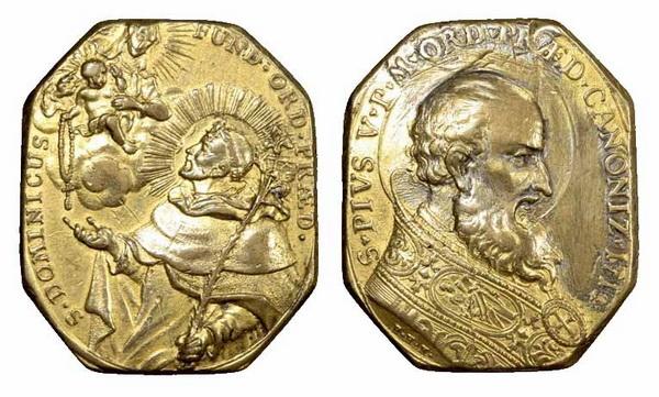 Recopilación medallas de Santo Domingo de Guzmán. Notas iconográficas. Copy_o10