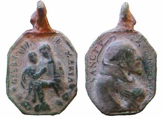 Recopilacion medallas  San Francisco de Asis Diocle10