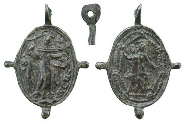 Recopilación medallas de Santo Domingo de Guzmán. Notas iconográficas. Dom01_10