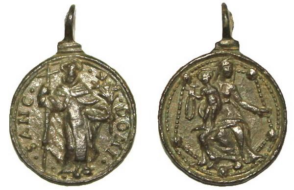 Recopilación medallas de Santo Domingo de Guzmán. Notas iconográficas. Dom09_10