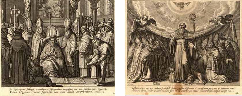 San Agustin / Santo Tomás de Villanueva - MR(417) (R.M. SXVIII-O247) Estamp10