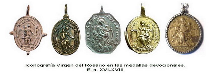 Recopilación medallas de Santo Domingo de Guzmán. Notas iconográficas. Evol_i11