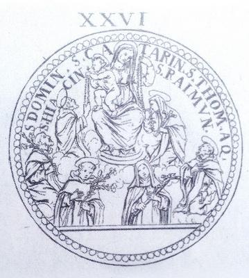 Recopilación medallas de Santo Domingo de Guzmán. Notas iconográficas. F_bona10
