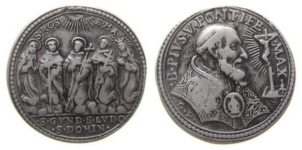 Recopilación medallas de Santo Domingo de Guzmán. Notas iconográficas. Giovan10
