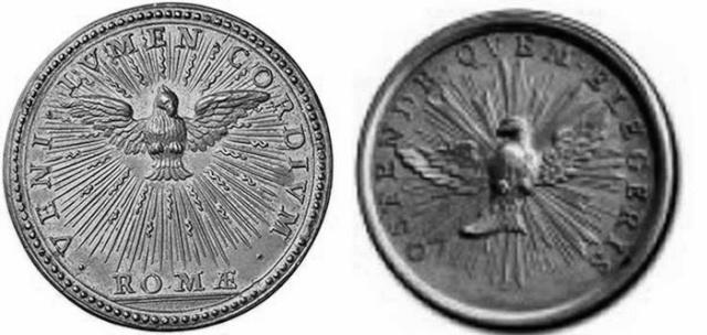 Medalla Escalera Santa / Cuatro Basílicas 1700 (R.M. SXVIII-P75) Giovan11