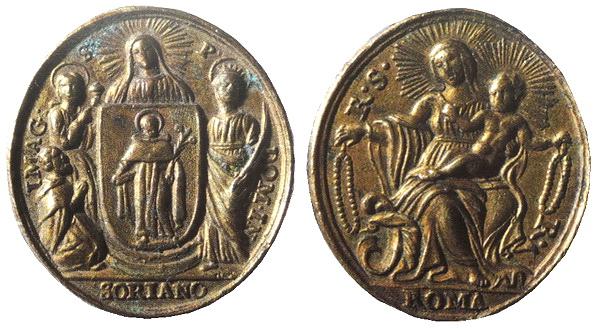 Recopilación medallas de Santo Domingo de Guzmán. Notas iconográficas. Glaube10