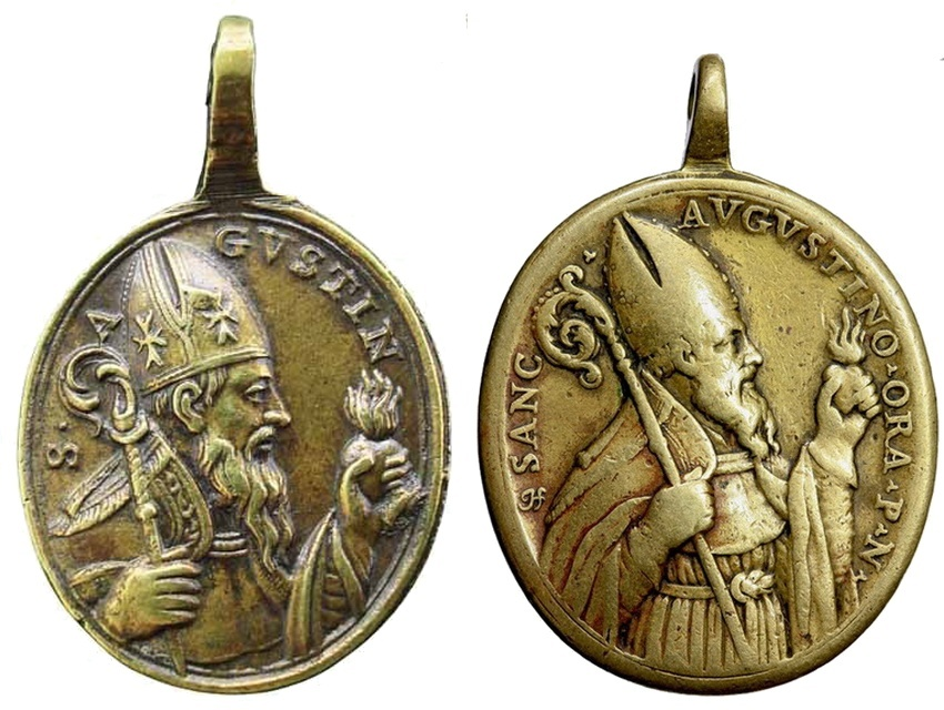 San Agustin / Santo Tomás de Villanueva - MR(417) (R.M. SXVIII-O247) Insvla17