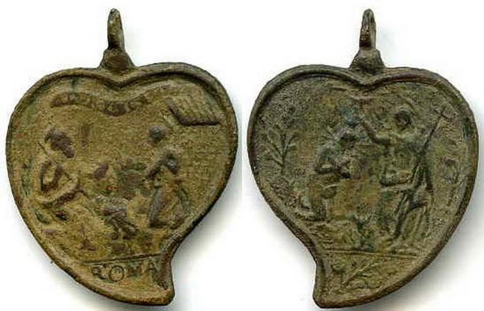 ICONOGRAFIA de la NATIVIDAD en las medallas devocionales Italic14