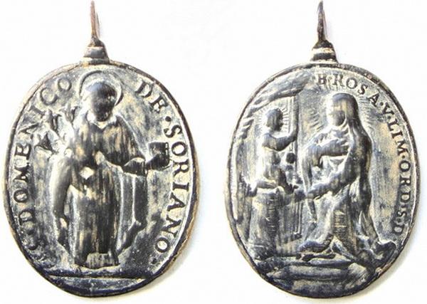 Recopilación medallas de Santo Domingo de Guzmán. Notas iconográficas. Javier10