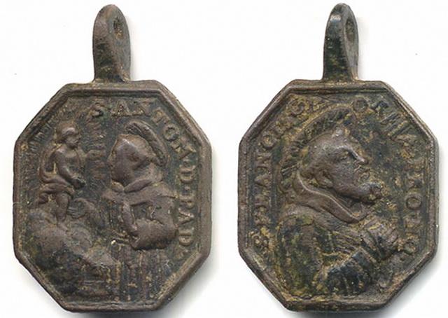 San Antonio de Padua / San Francisco de Asis, S. XVIII  (RM SXVII-P39)**** Joan_210