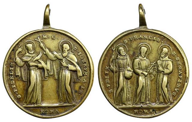 Recopilacion medallas  San Francisco de Asis Julius15