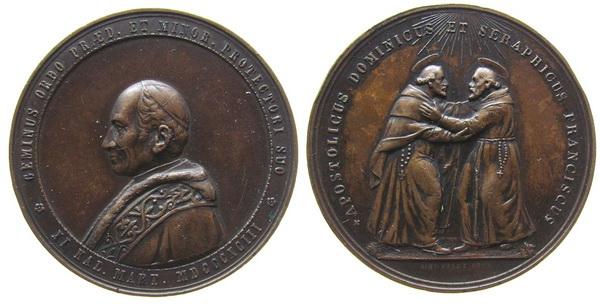 Recopilación medallas de Santo Domingo de Guzmán. Notas iconográficas. Leon_x10