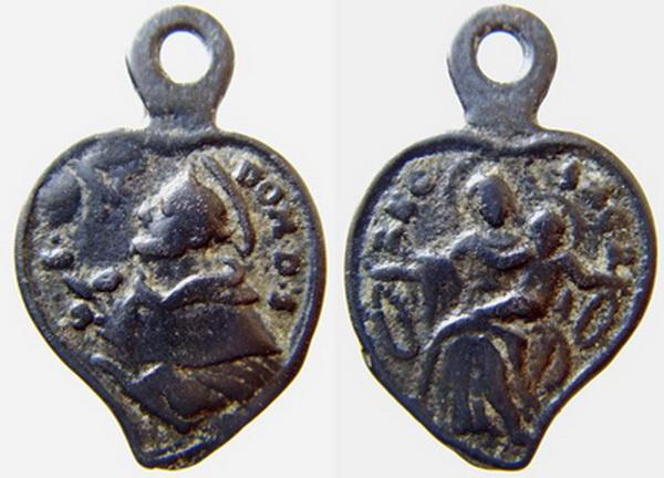 Recopilación medallas de Santo Domingo de Guzmán. Notas iconográficas. Mb02-j11