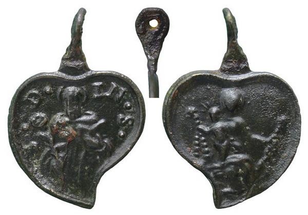 Recopilación medallas de Santo Domingo de Guzmán. Notas iconográficas. Mb03-i10