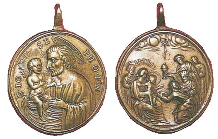 ICONOGRAFIA de la NATIVIDAD en las medallas devocionales Num45_10