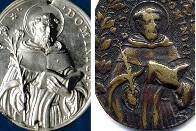Sto. Domingo de Guzmán / cinco santos canonizados en 1671 (R.M. SXVII-O327) Orlas_10