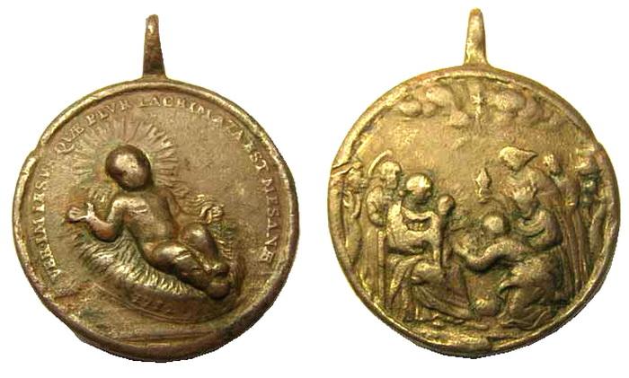 ICONOGRAFIA de la NATIVIDAD en las medallas devocionales Pep_a10