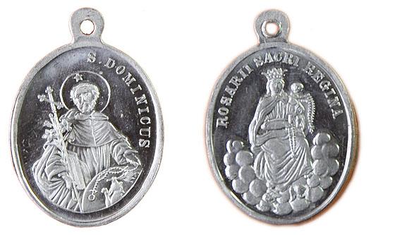 Recopilación medallas de Santo Domingo de Guzmán. Notas iconográficas. Pescud13