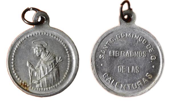 Recopilación medallas de Santo Domingo de Guzmán. Notas iconográficas. Pescud14