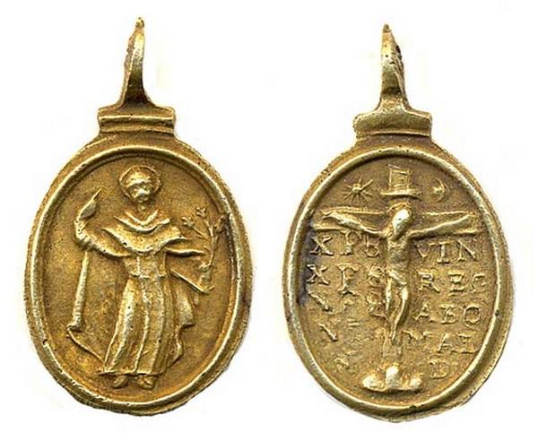 Recopilación medallas de Santo Domingo de Guzmán. Notas iconográficas. Pescud37