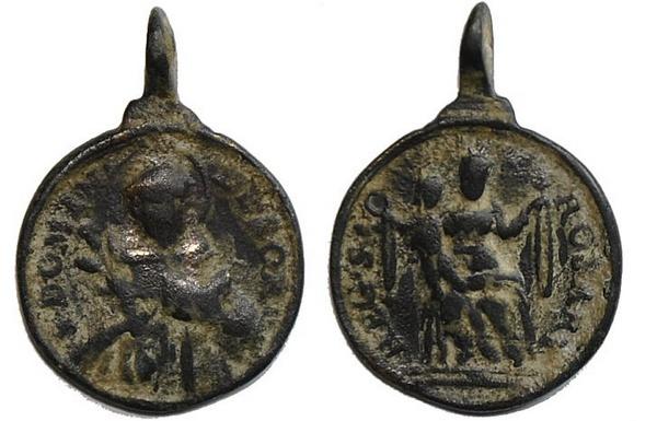 Recopilación medallas de Santo Domingo de Guzmán. Notas iconográficas. Pescud40