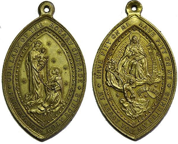 Recopilación medallas de Santo Domingo de Guzmán. Notas iconográficas. Pescud43