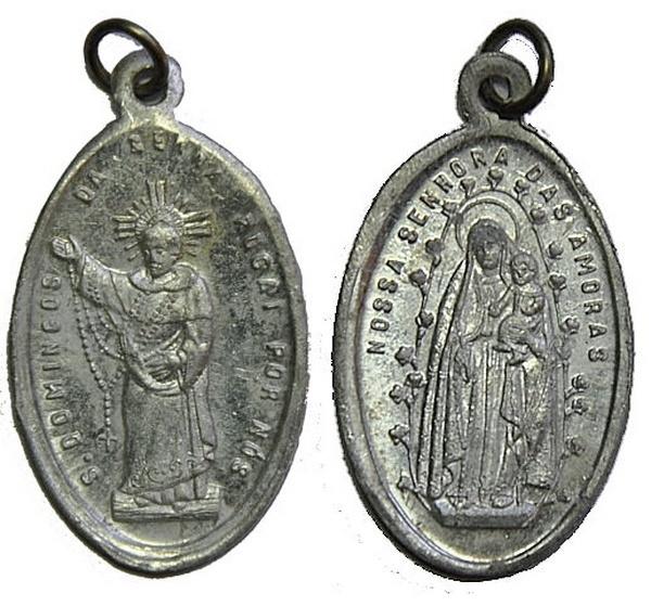 Recopilación medallas de Santo Domingo de Guzmán. Notas iconográficas. Pescud52