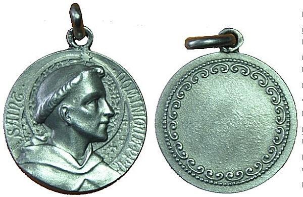 Recopilación medallas de Santo Domingo de Guzmán. Notas iconográficas. Pescud63