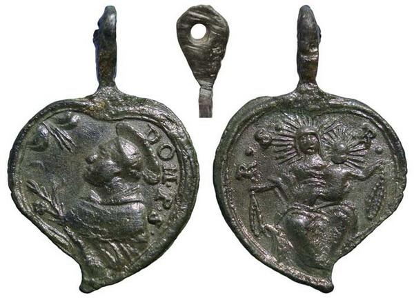 Recopilación medallas de Santo Domingo de Guzmán. Notas iconográficas. Sdi01_10