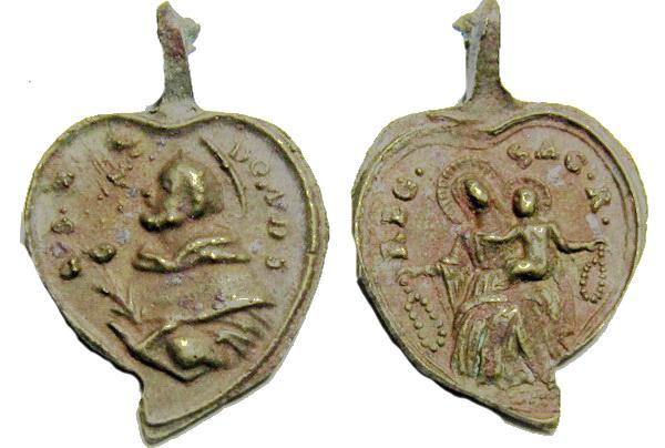 Recopilación medallas de Santo Domingo de Guzmán. Notas iconográficas. Sdi02_10