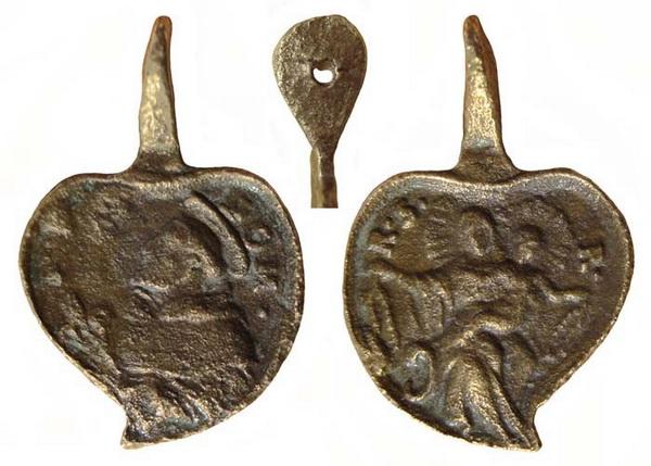 Recopilación medallas de Santo Domingo de Guzmán. Notas iconográficas. Sdi04_10